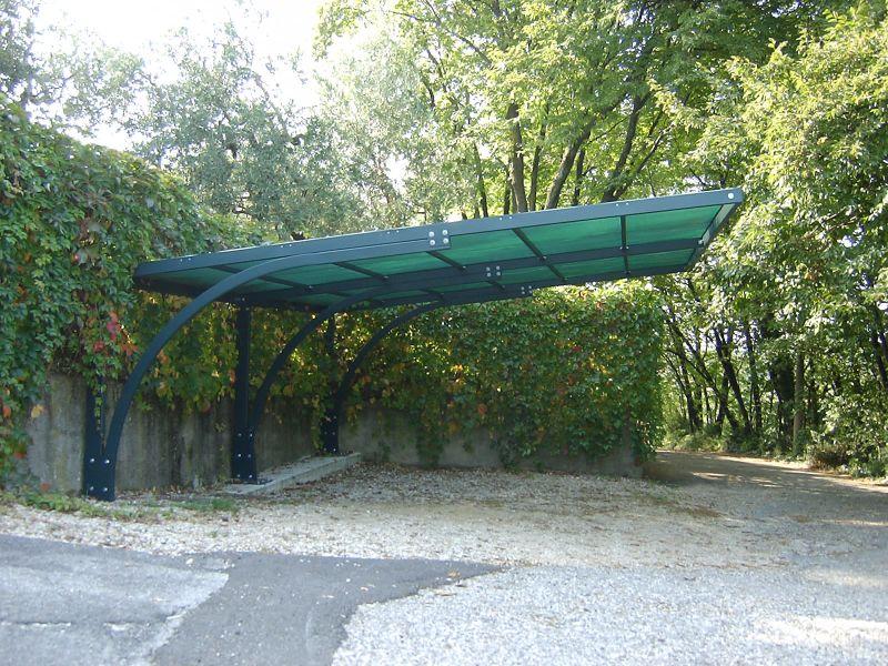 Carport Verona Carport In Legno Antigrandine