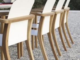 Mobili da giardino sedie teak