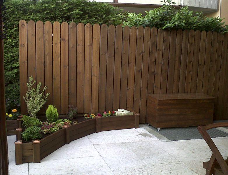 Steccato Per Giardino : Steccato da giardino staccionata recinzione in legno trattato