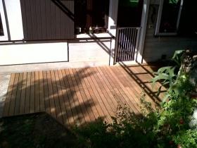 Pavimento da esterno in legno di ipe lapacho