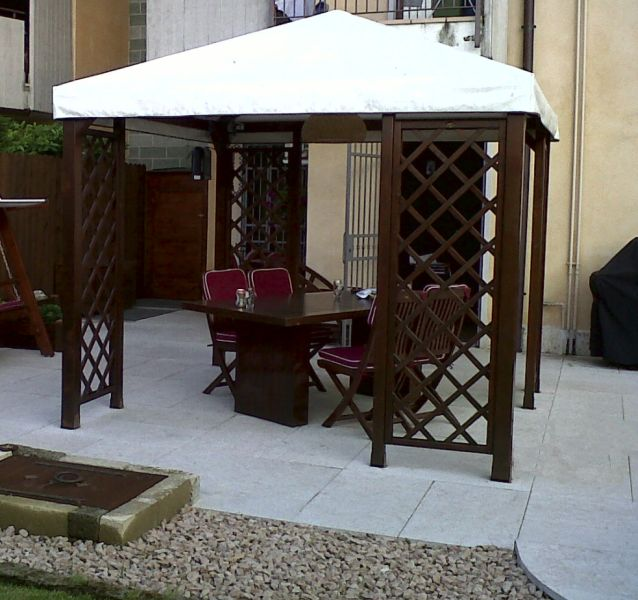 Vendita gazebo verona gazebi in legno gazebo in ferro for Vendita arredo urbano
