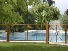 Recinzione moderna design per piscina