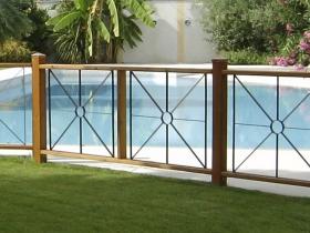 Recinzione protezione per piscina