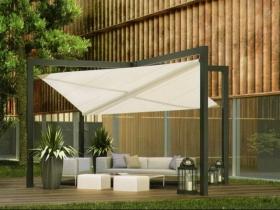 Tenda a vela da giardino design modello mistral