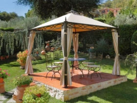 Gazebo in ferro eden