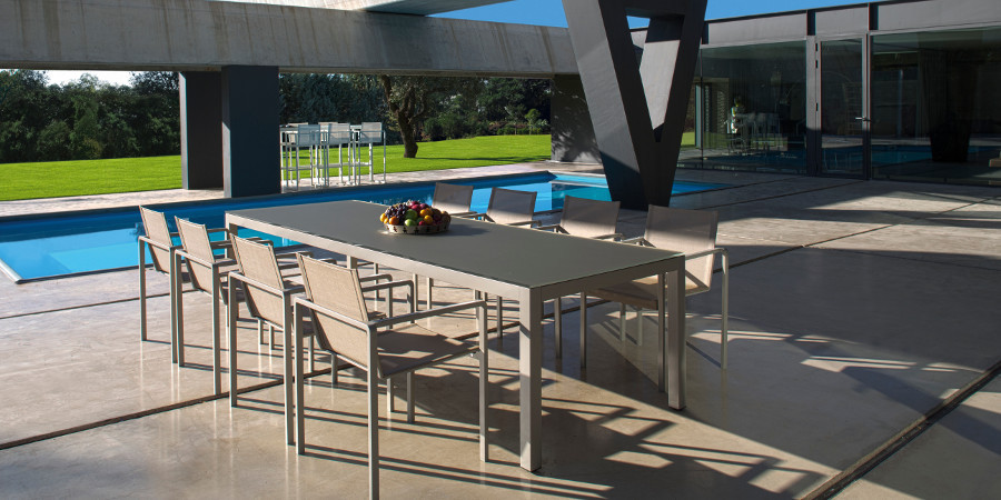 tavolo e sedie da esterno royal botania, mobili da giardino